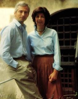Hans Adam II et Marie de Liechtenstein