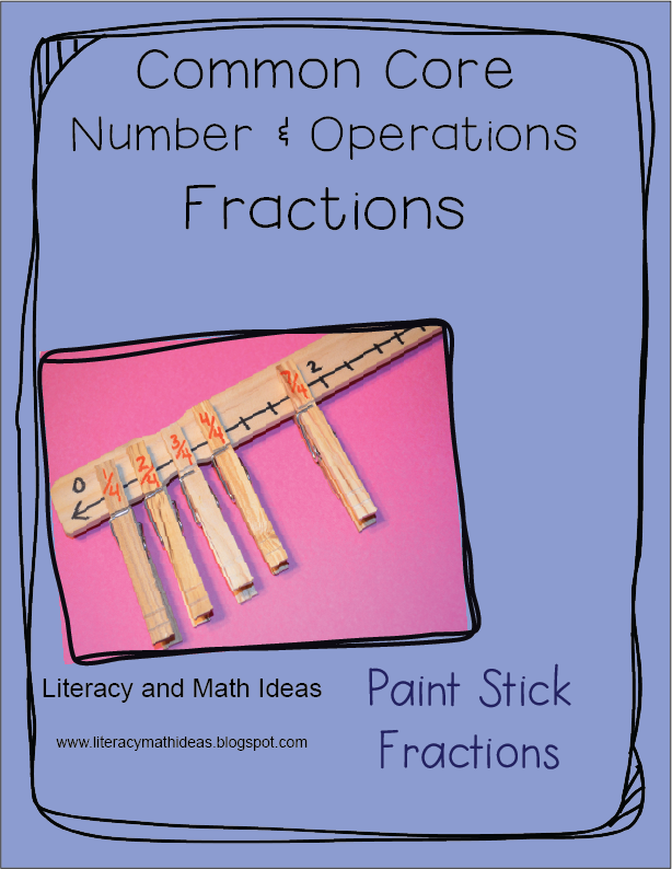 Literacy  U0026 Math Ideas  Common Core Number And Operations