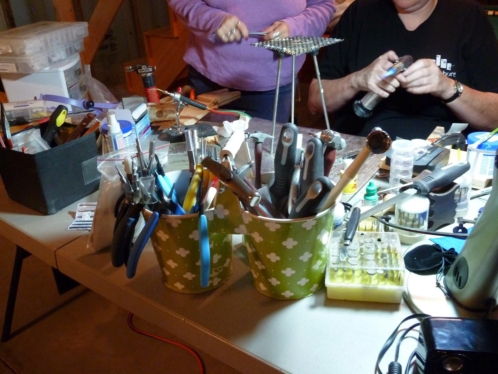 Jewelry Artists Retreat 2014