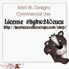 K Westling CU License