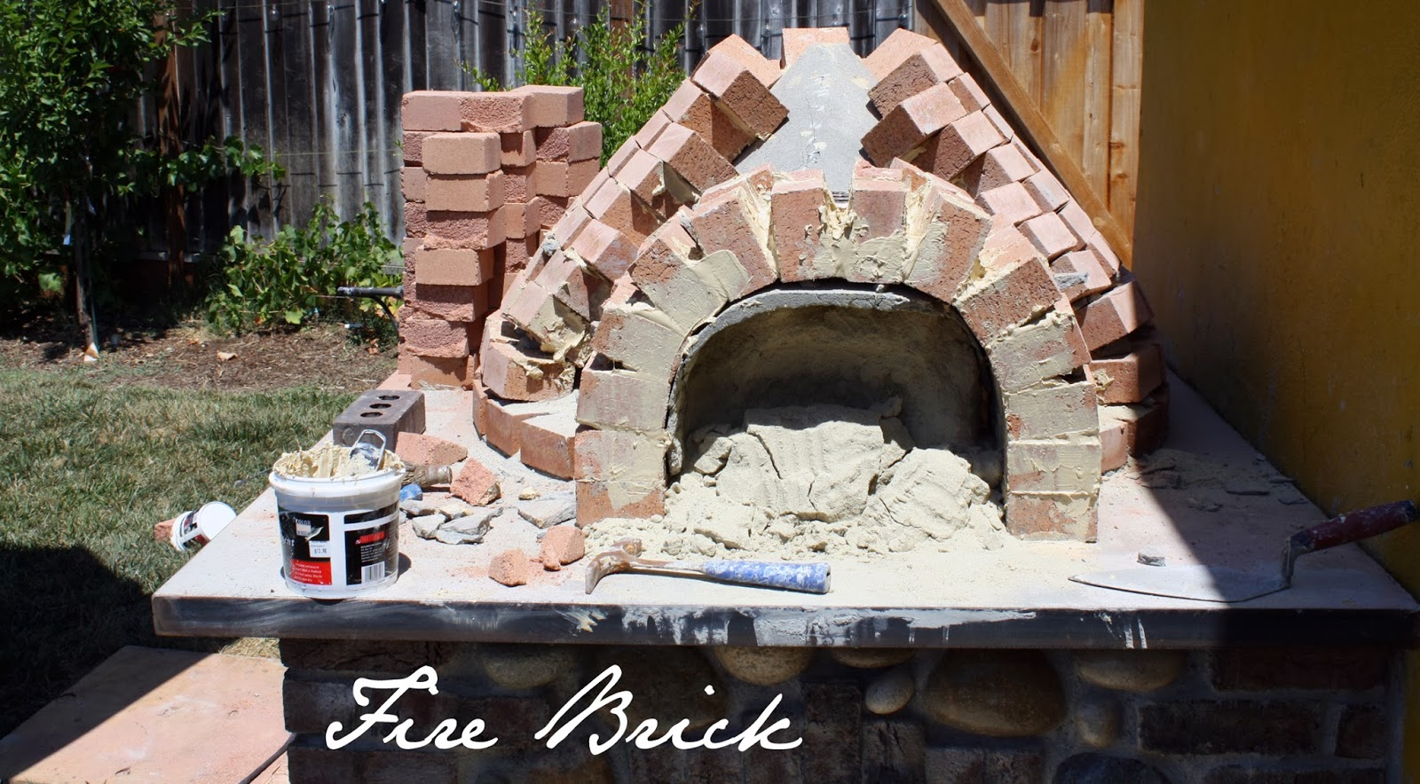 how to make fire brick mortar