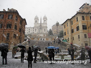 neve a roma 3 febbraio 2012