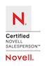 Osman Baig, Novell Certified Salesperson