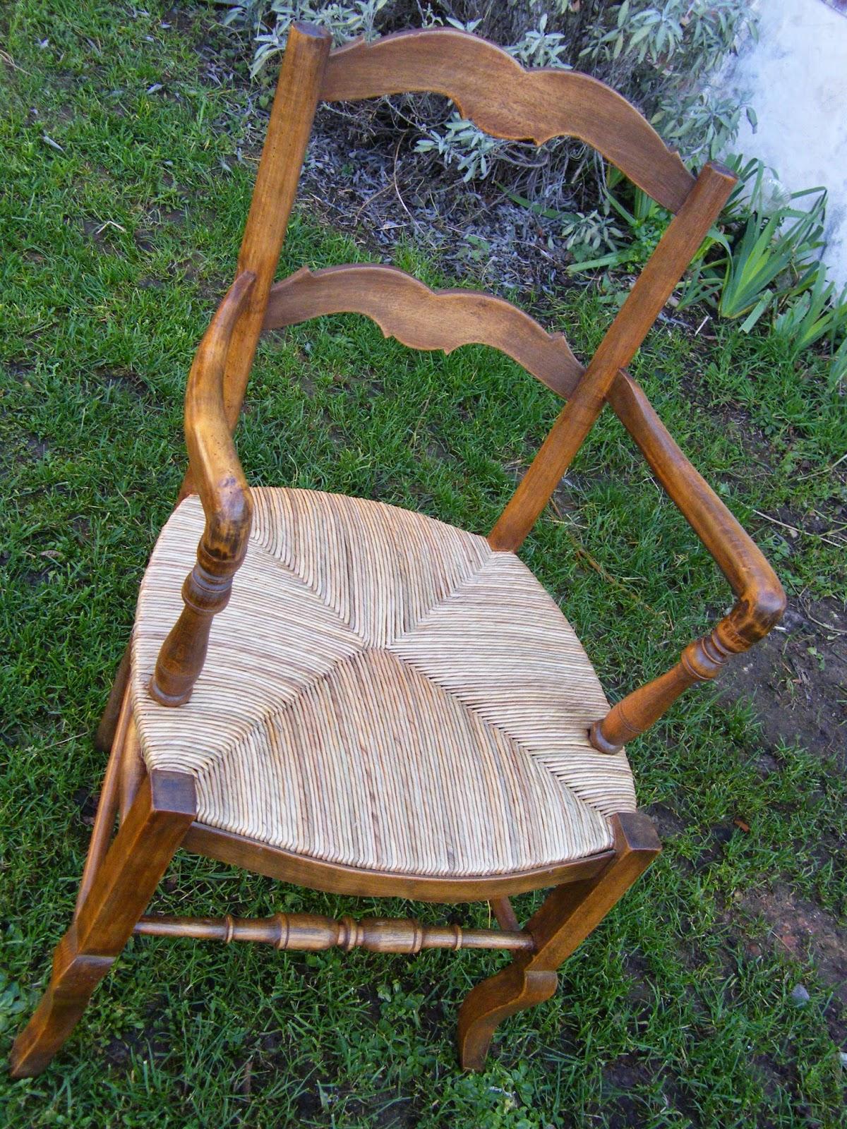 normandie cannage fauteuil rempailler en seigle de couleur antiquaire. Black Bedroom Furniture Sets. Home Design Ideas