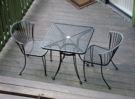 Wrought iron table chairs designs ideas. | An Interior Design