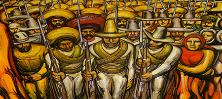 Desde mi belvedere david alfaro siqueiros el gran muralista for El mural de siqueiros