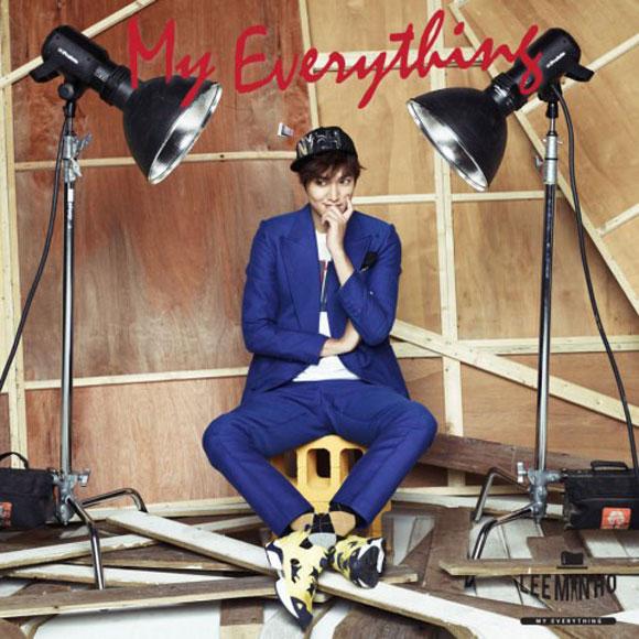 Lee Min Ho bật mí về album đặc biệt My Everything 1