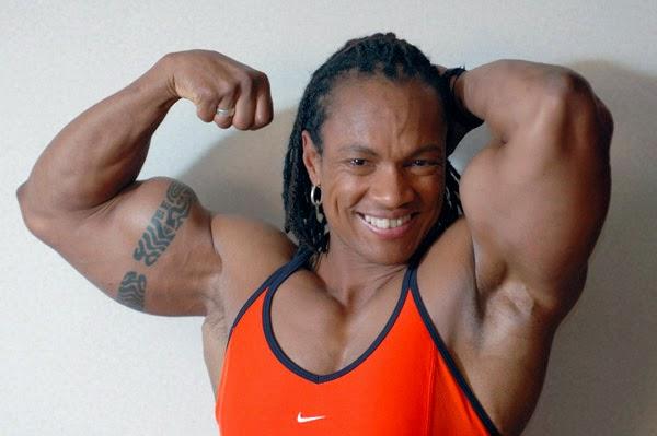 Top Female Body Builder Renne Toney