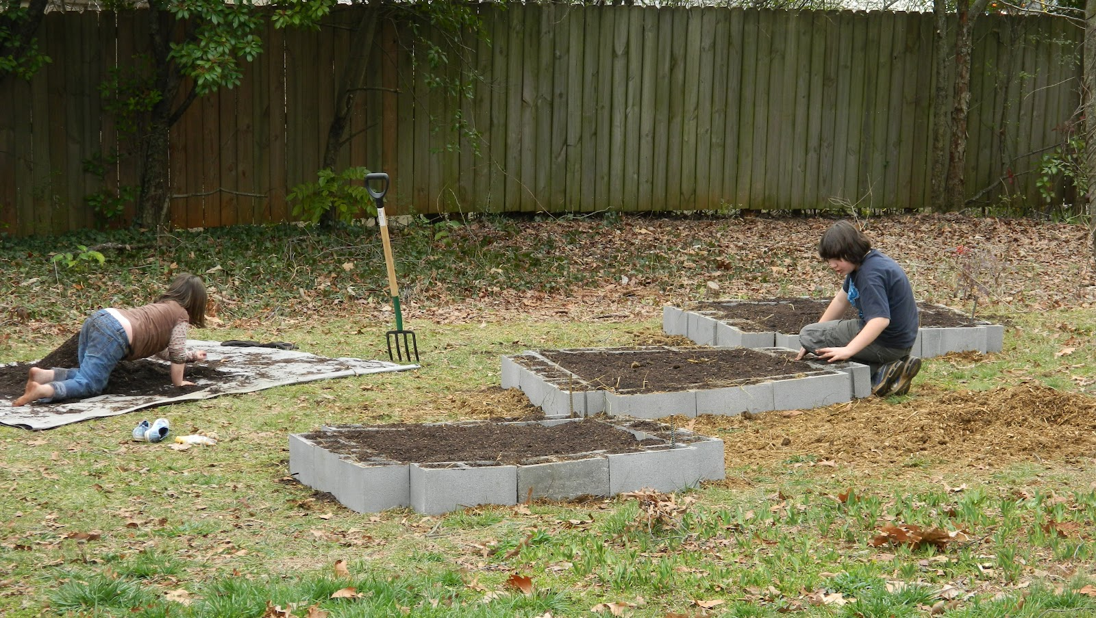 Marigold Monday\'s: Square Foot Gardening