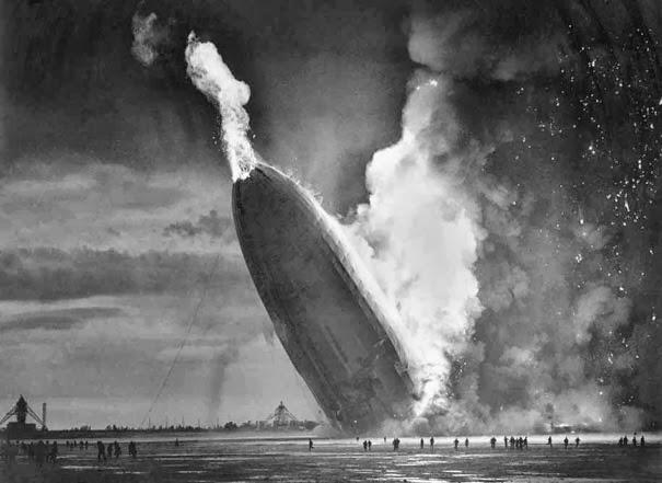 "Бедствие дирижабля "" Гинденбург"", 6 Мая 1937 г."