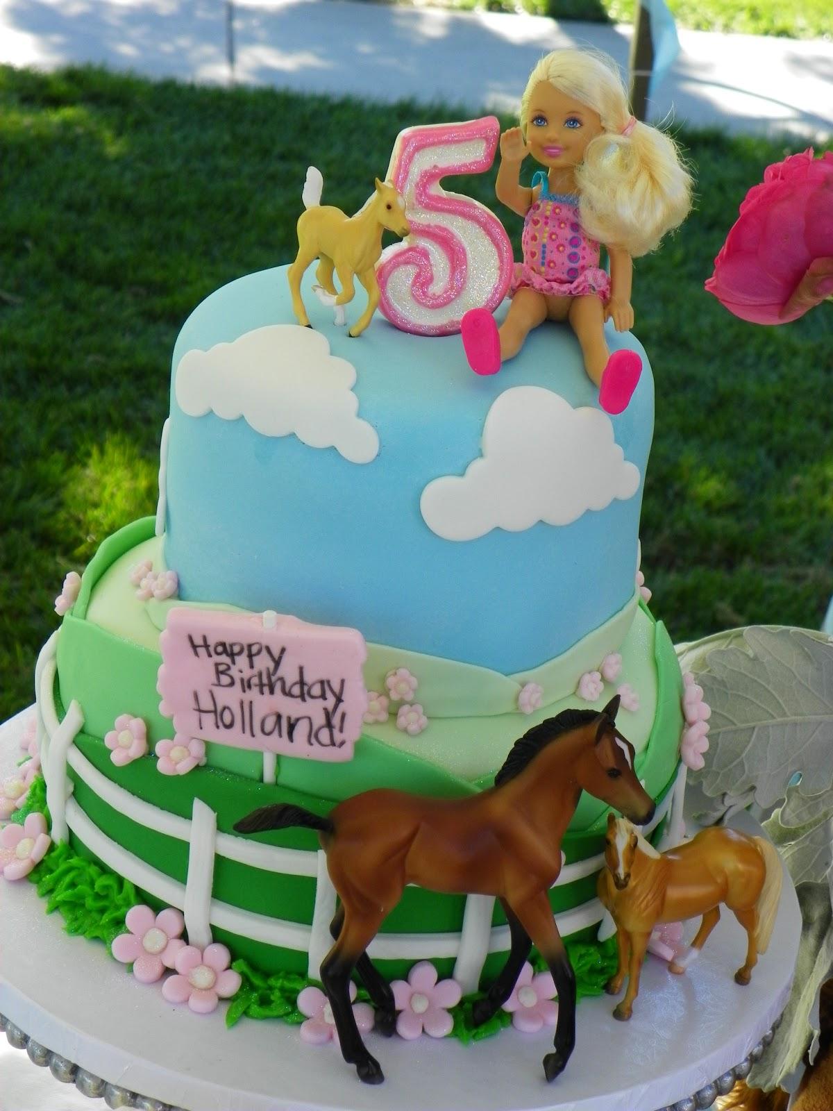 Plumeria Cake Studio Pretty Pony Birthday Cake