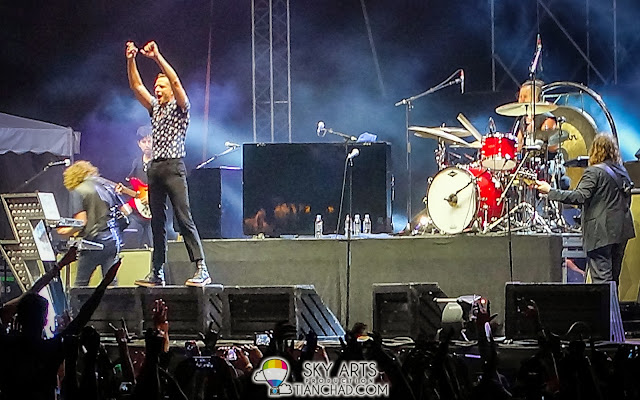 The Killers Live in KL Malaysia #TheKillersMY #TheKillersKL