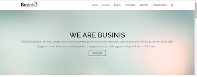 Businis Responsive Blogger Templates