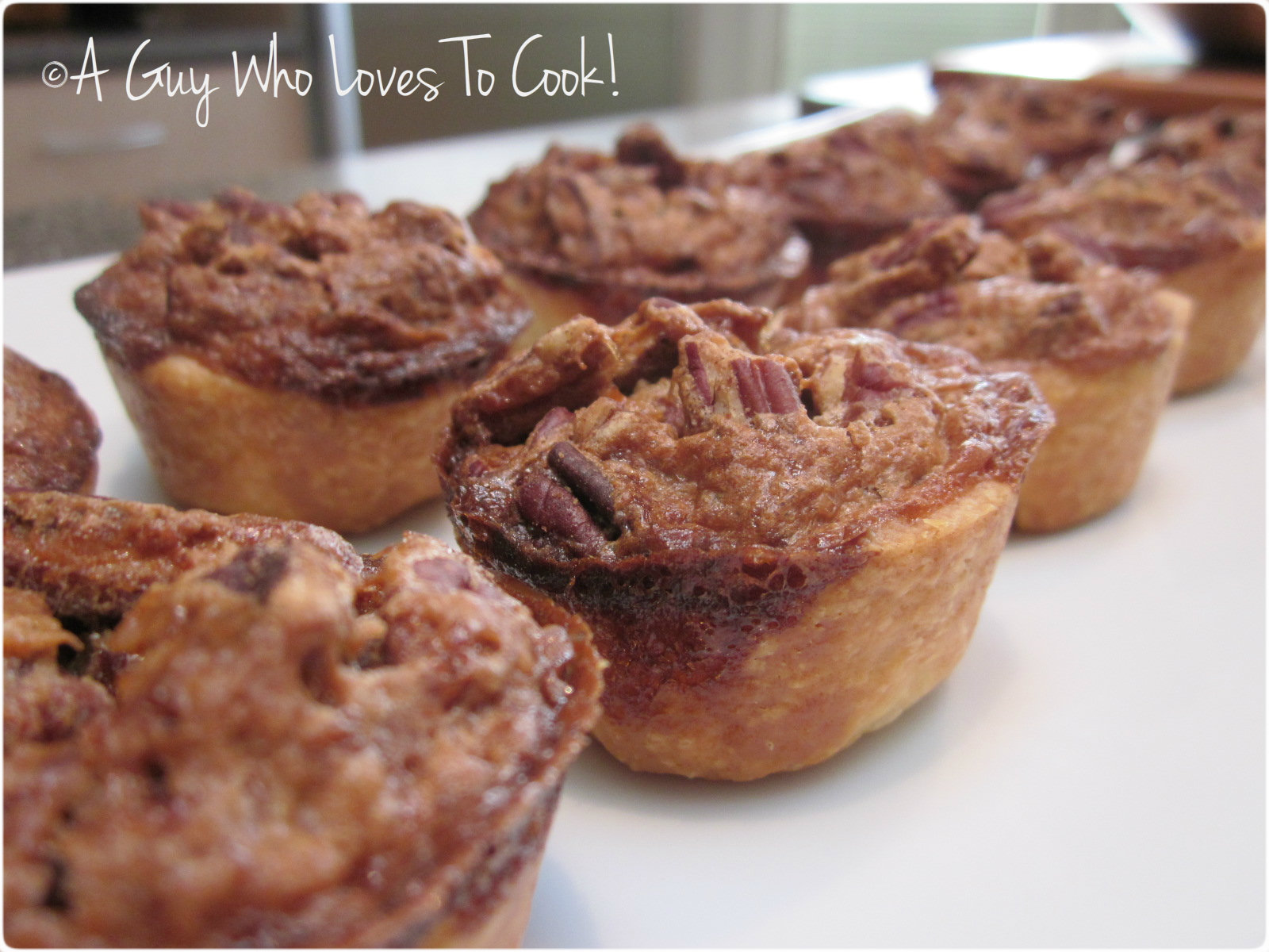 A Guy Who Loves to Cook!: Pecan Tassies