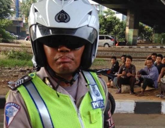 Ulah Oknum Polisi Rasis yang Arogan Terhadap Etnis Cina itu bernama Hardiyanto