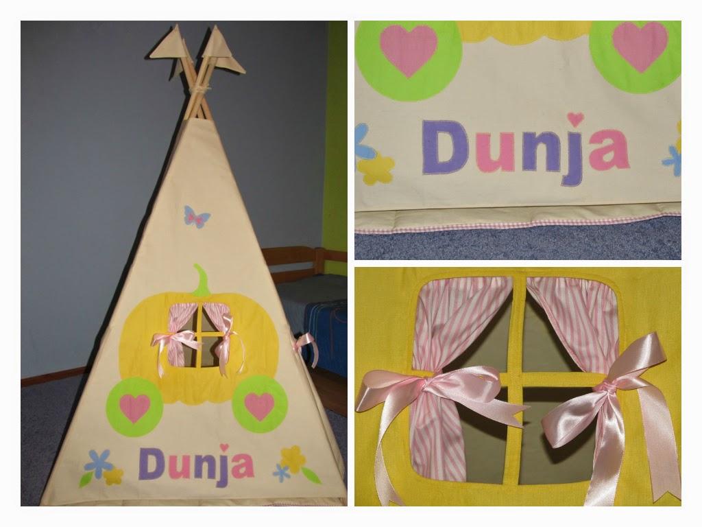 Personalizovan dečiji šator
