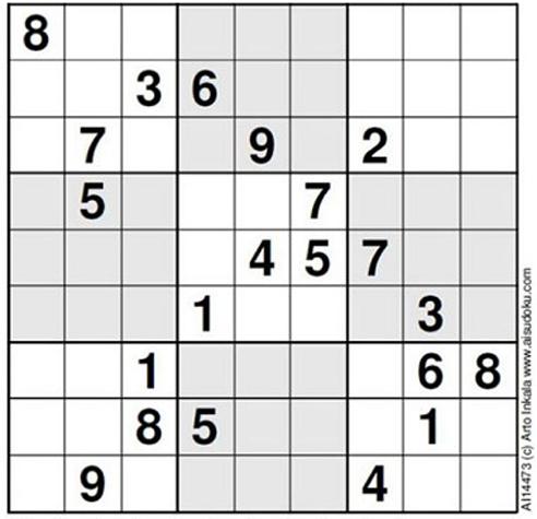 World's Hardest Sudoku
