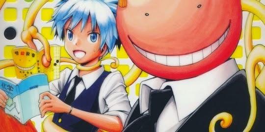 Actu Manga, Assassination Classroom, Critique Manga, Kana, Manga, Shonen, Yusei Matsui,