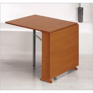 Precio mesa cocina cristal extensible moderna redonda tu for Diseno de mesas plegables