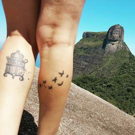 Livre pra poder sorrir, sim. Livre pra poder buscar o meu lugar ao sol.