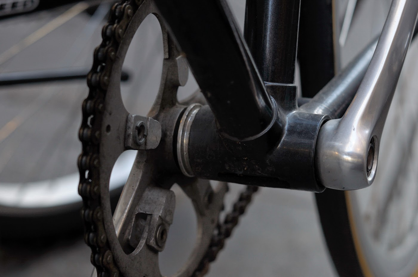 Bespoke, customisation, conversion, frame, Melbourne, Australia, tim macauley, the biketorialist, single speed, custom, flinders lane, bike, bicycle,  chain, bottom bracket, crank