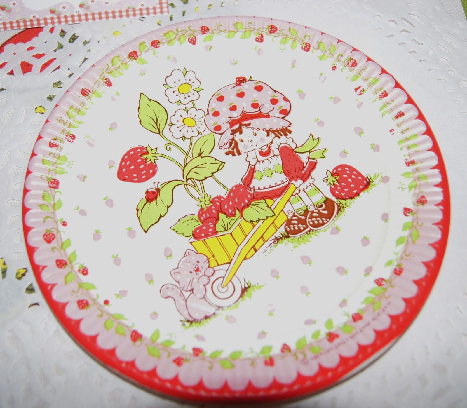 Whimsy Living: Vintage Strawberry Shortcake Birthday Party