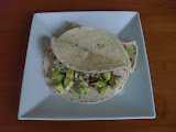 Ground Turkey and Mushroom Tacos with Avocado Salad
