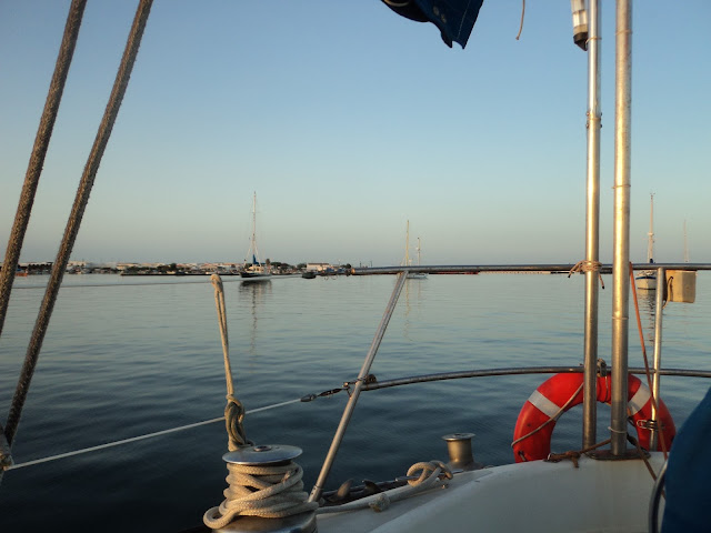 Culatra anchorage