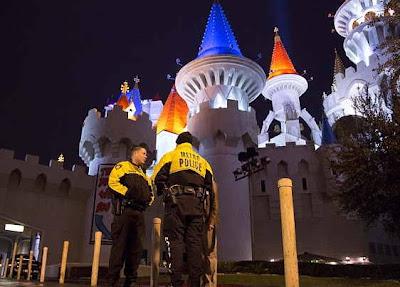 Excalibur Las Vegas Murder-Suicide Dominates Hotels' Social Media