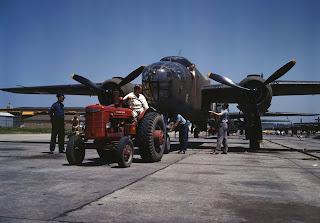 B-25 Bomber , Kansas, 1942