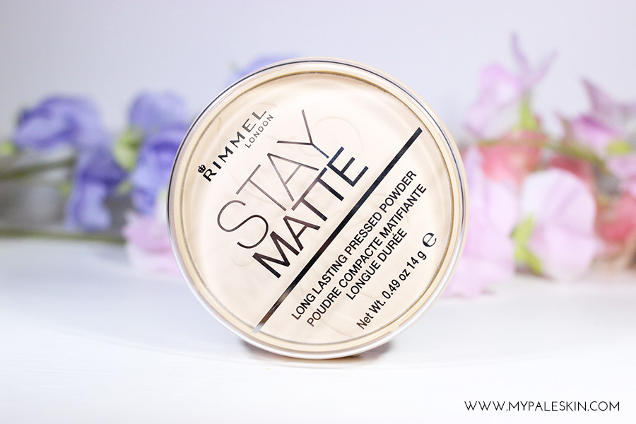 Rimmel Stay Matte Powder - Translucent pressed powder pale skin