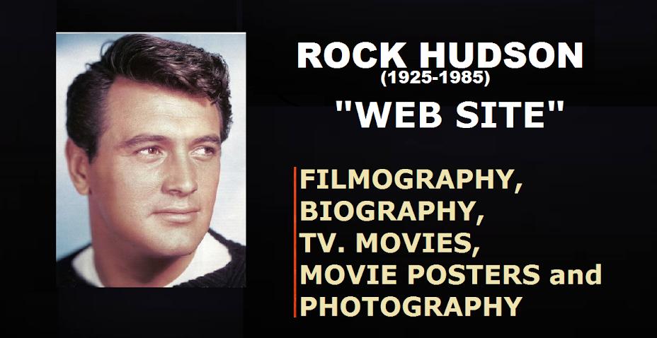 ROCK HUDSON: WEB SITE