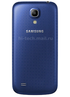 Samsung Galaxy S4 mini new  three color appearance includes blue, brown and red
