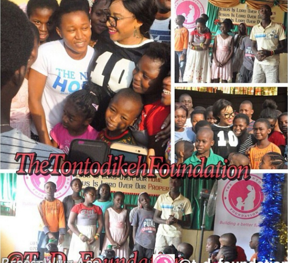 tonto dikeh foundation