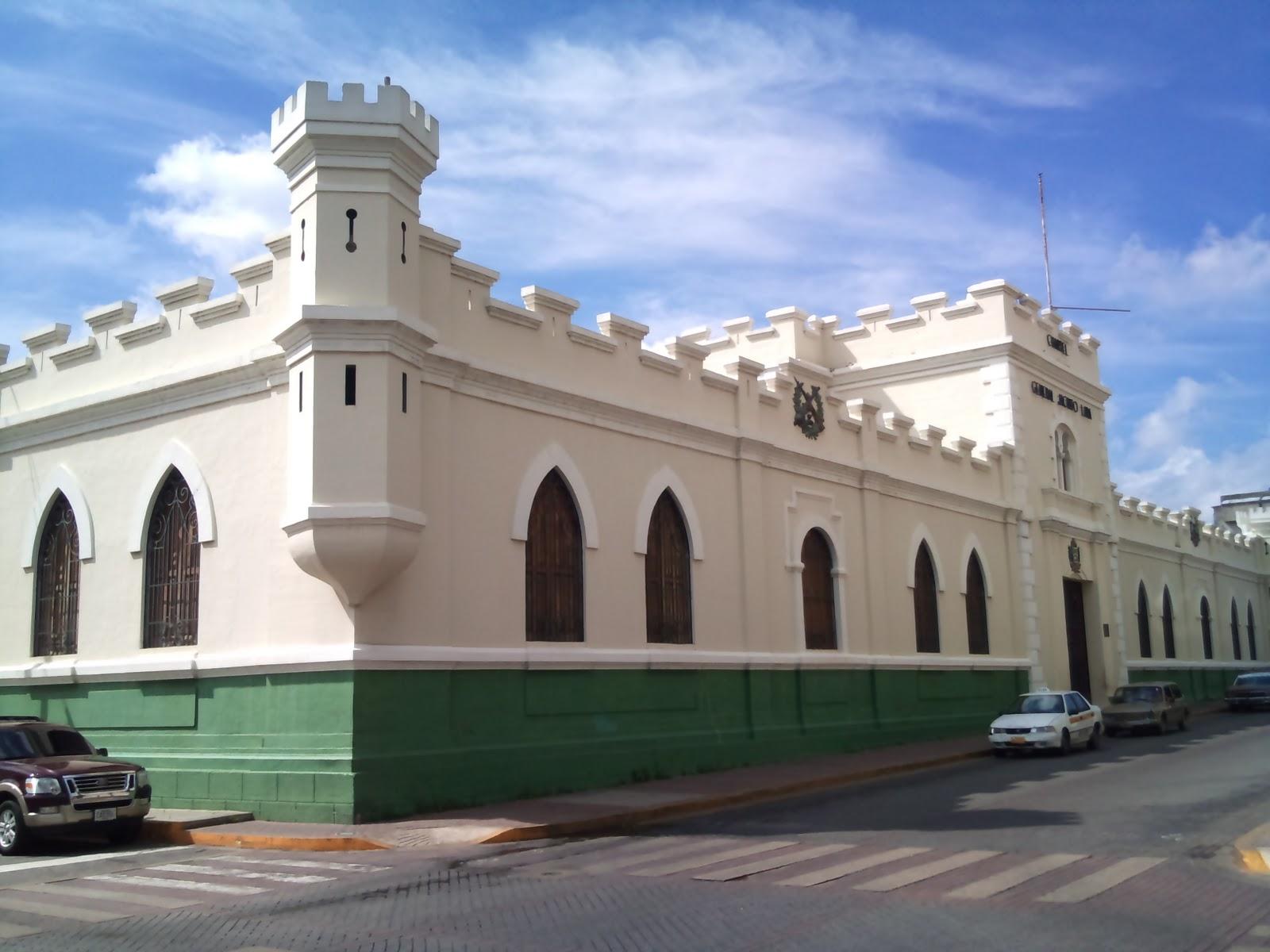 Cultura larense cuartel jacinto lara arquitectura militar for Arquitectura militar