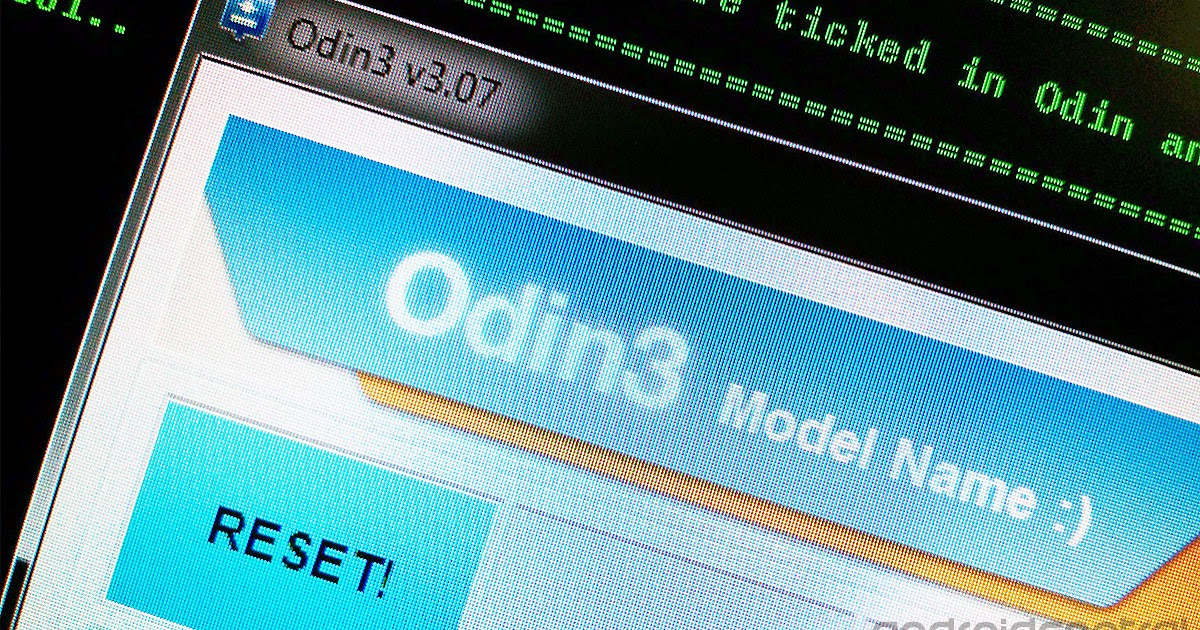 Cara Flash Android Menggunakan Odin