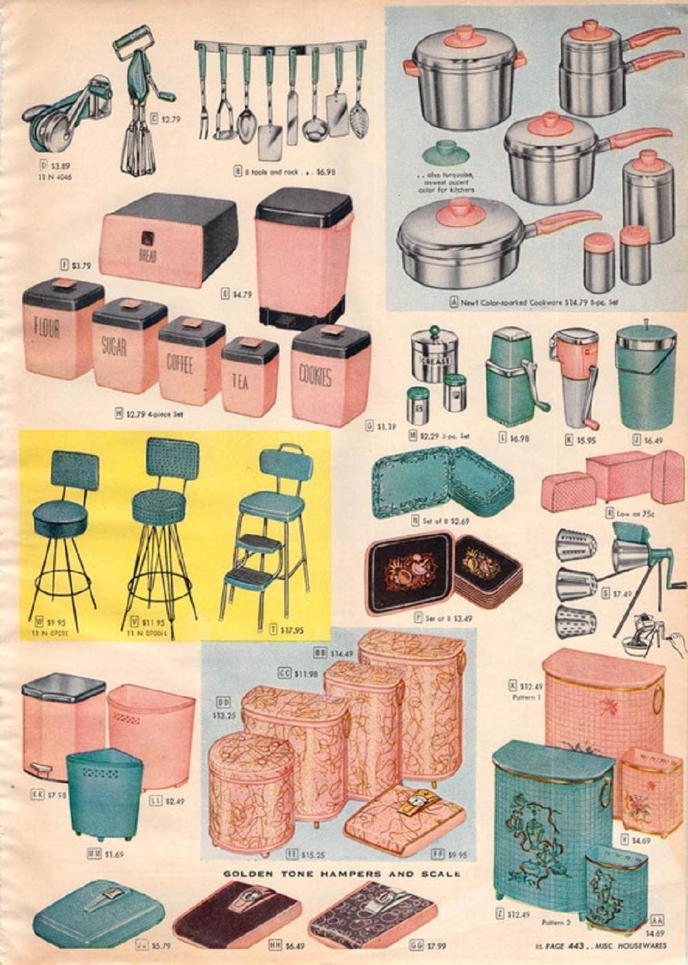 farm girl pink lot 39 s of kitchen goodness vintage. Black Bedroom Furniture Sets. Home Design Ideas