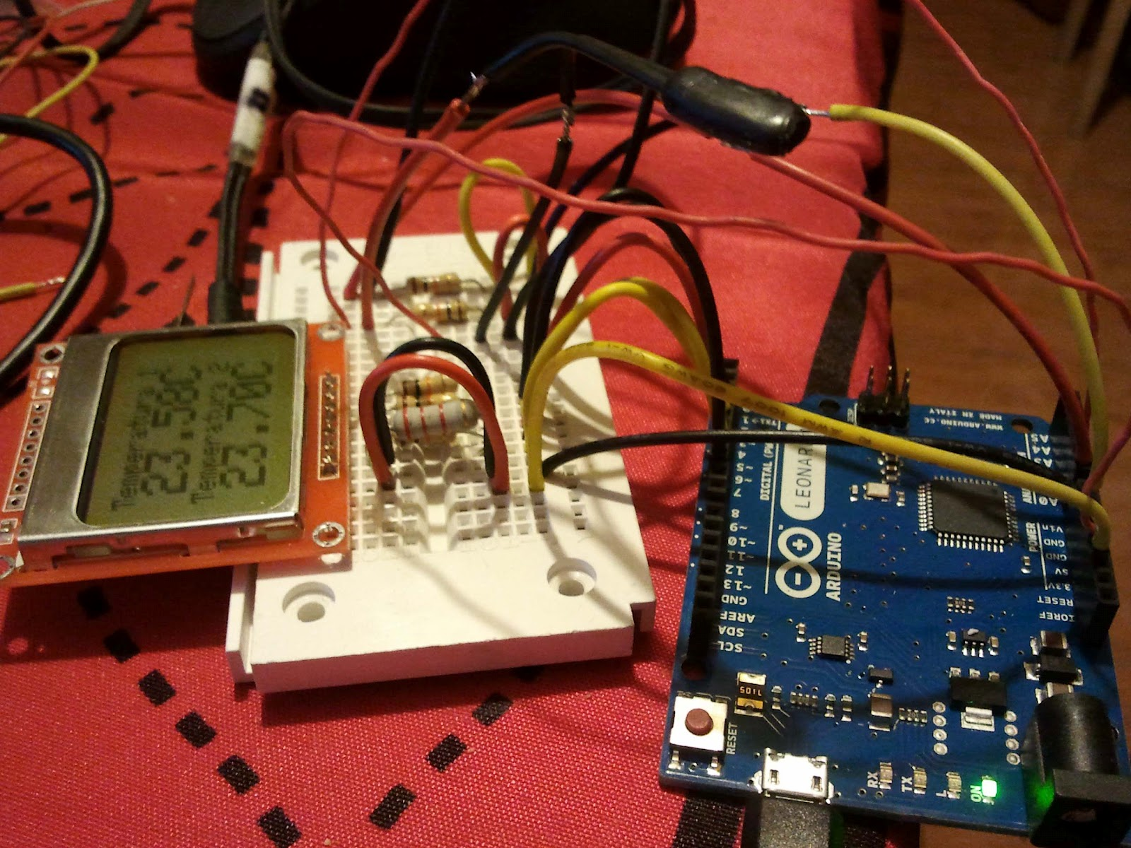 Technology For A Sustainable Future How To Use Thermistor Or Circuit Measuring Temperature Using And Arduino We Could Example Obtain This Result By Connecting Second In A1 Duplicating Parts Of The Code But Well See Another Post