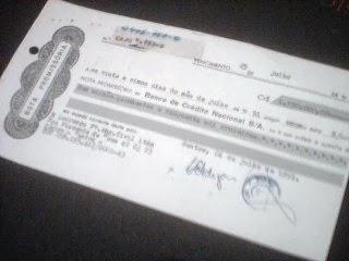 Nota Promissória/Promissory Note