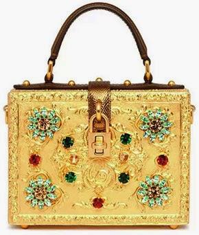 bolsa jóia da Dolce & Gabana coleção inverno 2015
