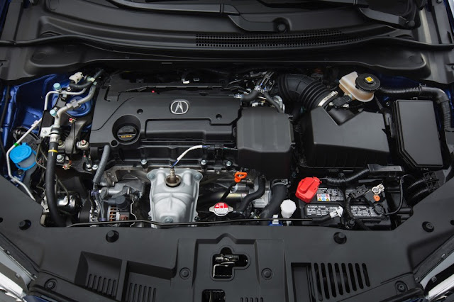 2016 Next Acura ILX Generation engine view