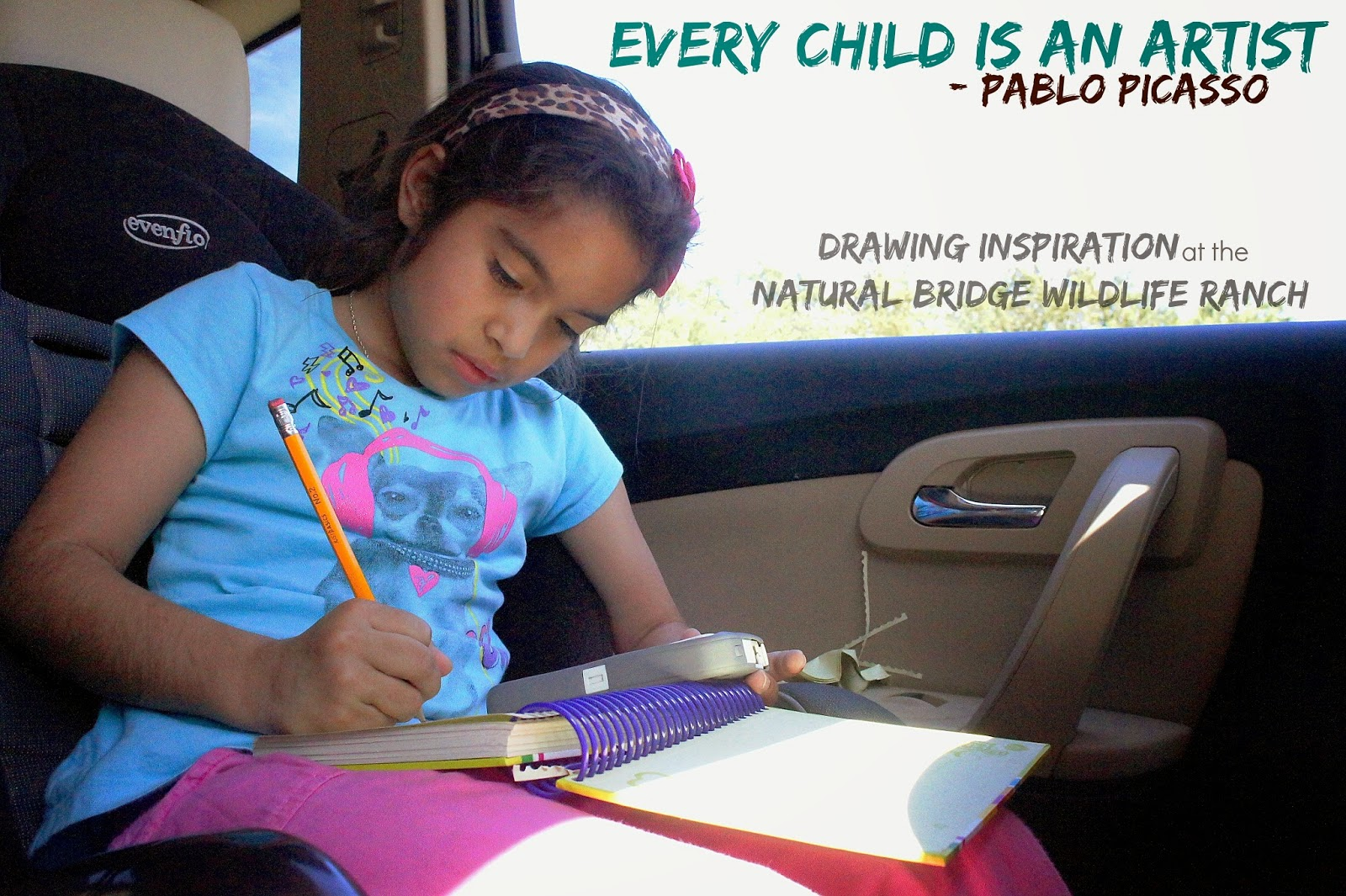 Drawing Inspiration at the Natural Bridge Wildlife Ranch in San Antonio, Texas