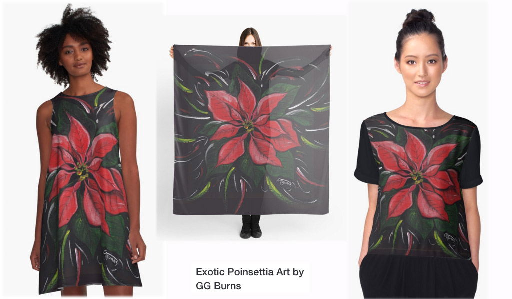 Wear poinsettia design by GG