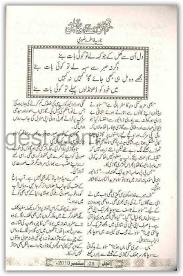 Tum hi se hoga milan novel by Nadia Fatima Rizvi Online Reading.
