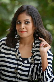 Actress Chandini Latest Pictures in Jeans at Kiraak Release Date Announcement Press Meet 0040