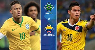 Brazil vs Colombia Copa America live stream