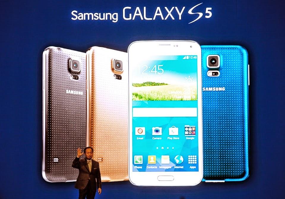 Gara-Gara Galaxy S5 Keuntungan Samsung Turun Dratis?