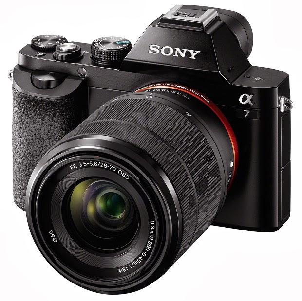 Fotografia della Sony A7 o ILCE-7