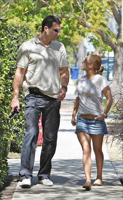 Hayden Panettiere in West Hollywood