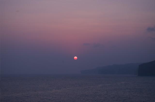 Sunset di Tanjung Kesirat